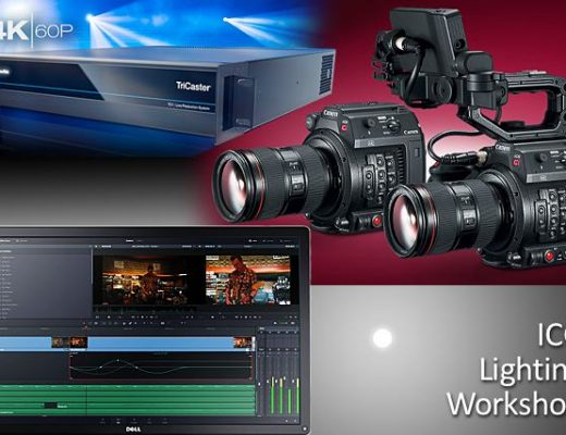 Events: Canon, Newtek, ICG Lighting, Blackmagic