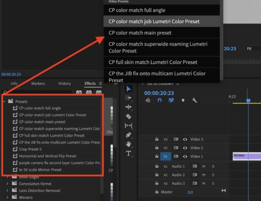 Excalibur adds more speed and less mouse to Adobe Premiere Pro 55