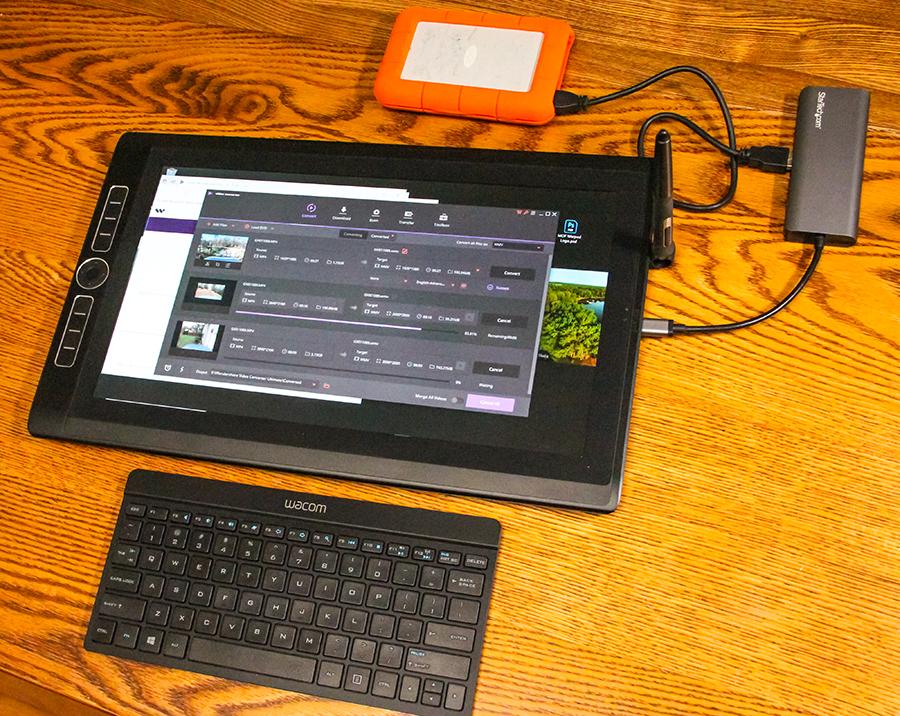 First Look: Wacom MobileStudio Pro 16 40