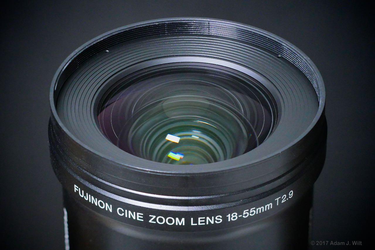 Review: Fujinon MK18-55mm T2 9 E-mount cine zoom by Adam Wilt