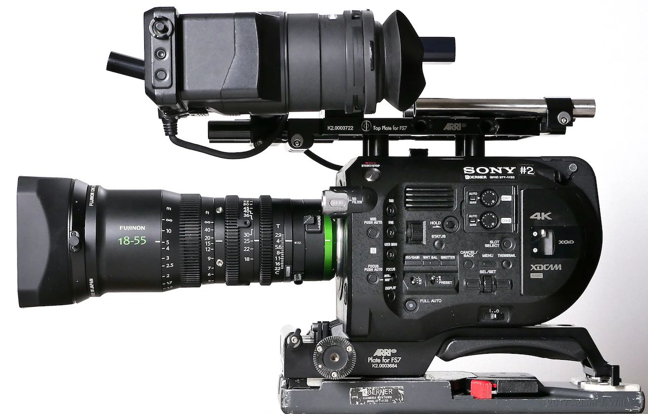 Sony FS7 with MK18-55mm