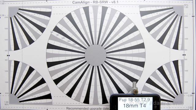 MK18-55mm geometric distortion, 18mm