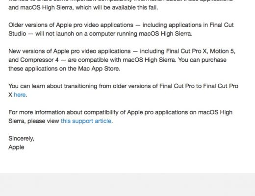 Apple, please create an XML utility to provide access to old Final Cut Pro 7 Classic projects 3