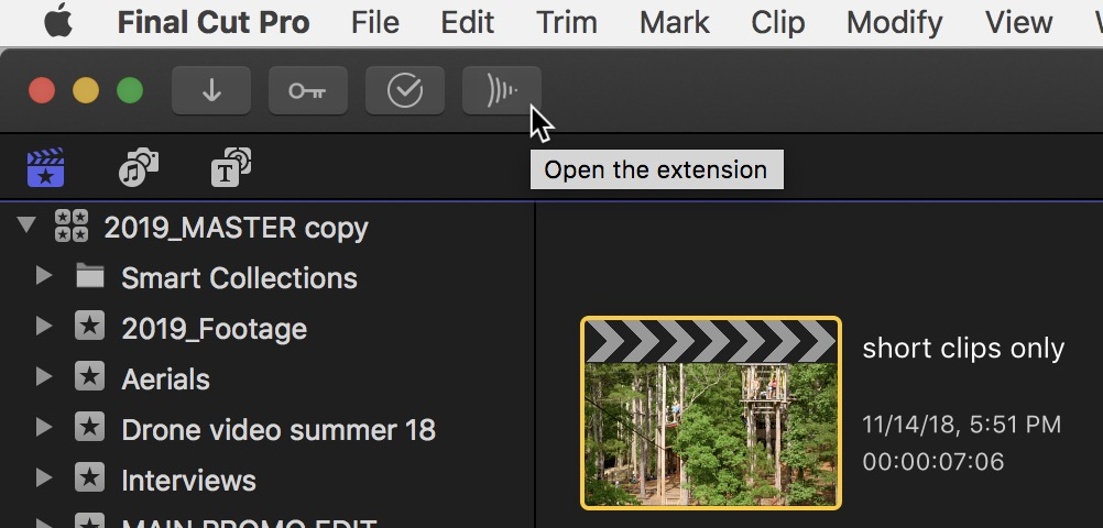 Final Cut Pro X 10.4.4 adds Workflow Extensions as the highlight of a new update 31