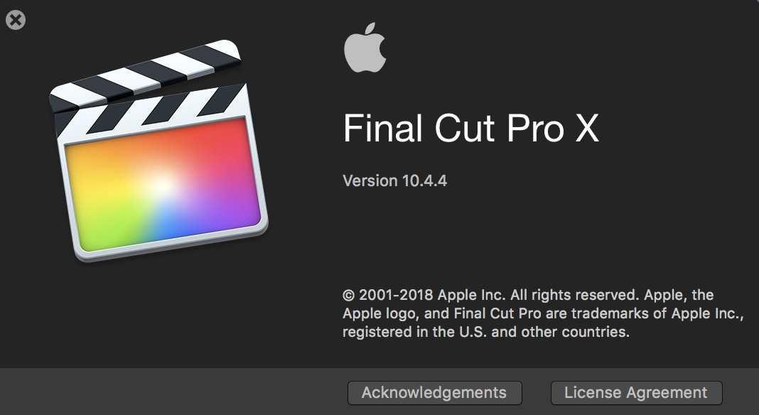 Final Cut Pro X 10.4.4 adds Workflow Extensions as the highlight of a new update 30