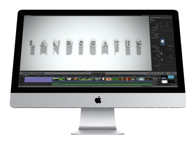 FCP X 3D Text and Templates