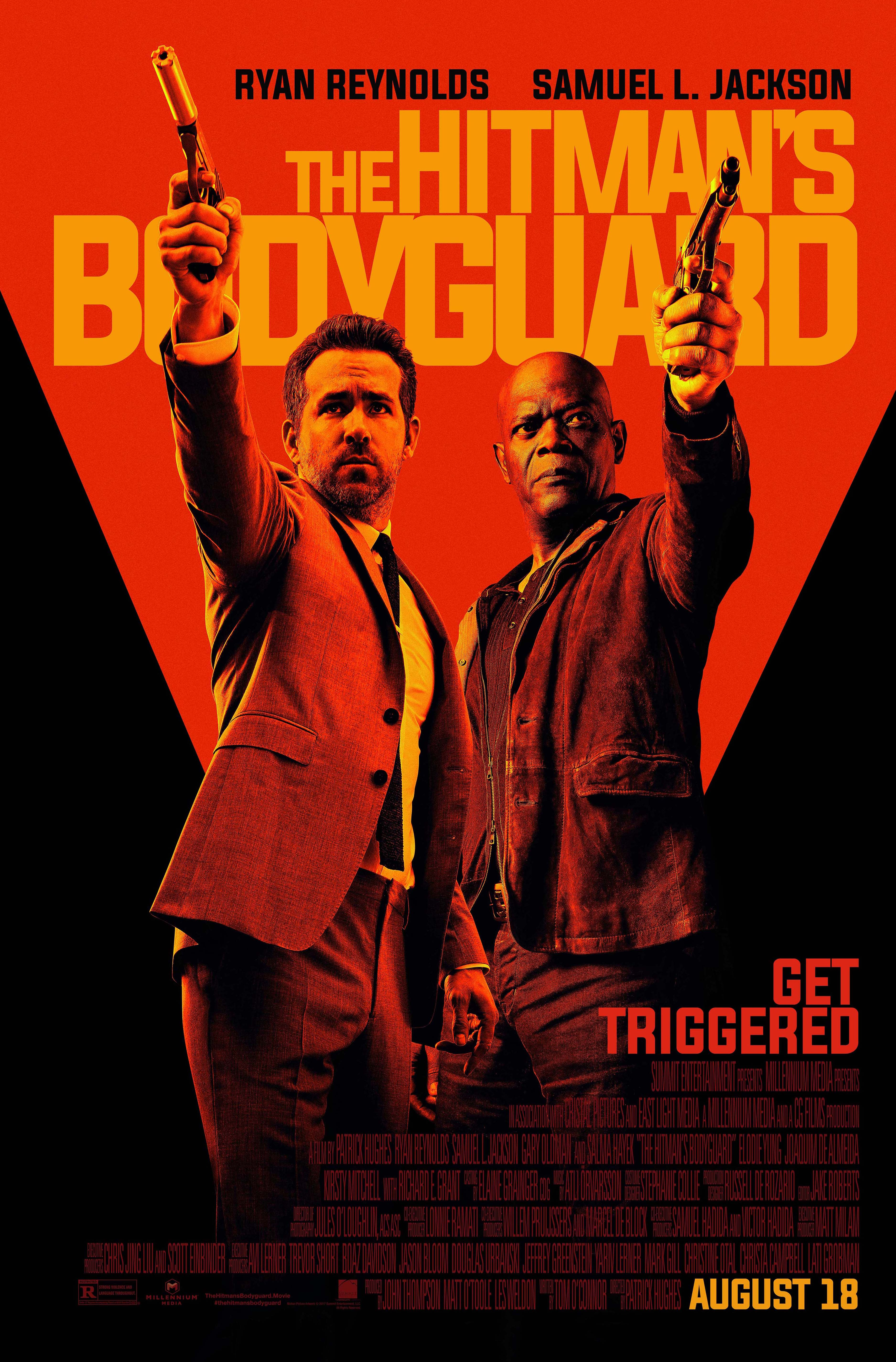"""ART OF THE CUT with Jake Roberts, ACE on """"Hitman's Bodyguard"""" 2"""