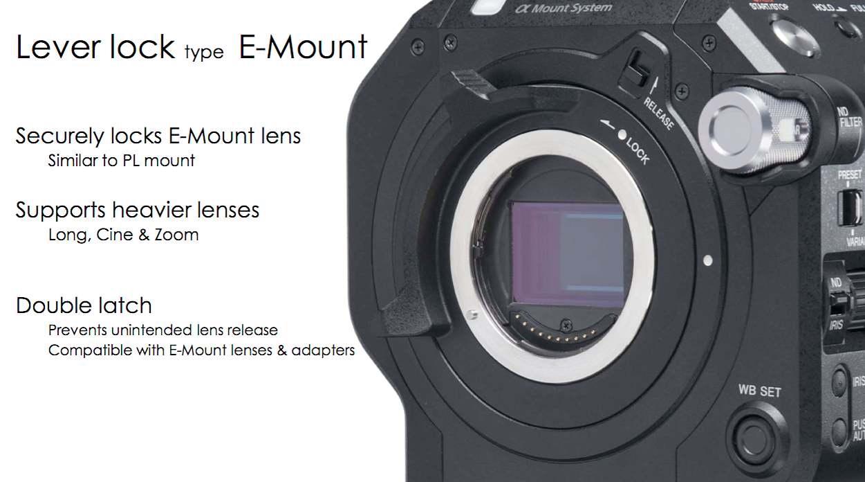 E-mount details