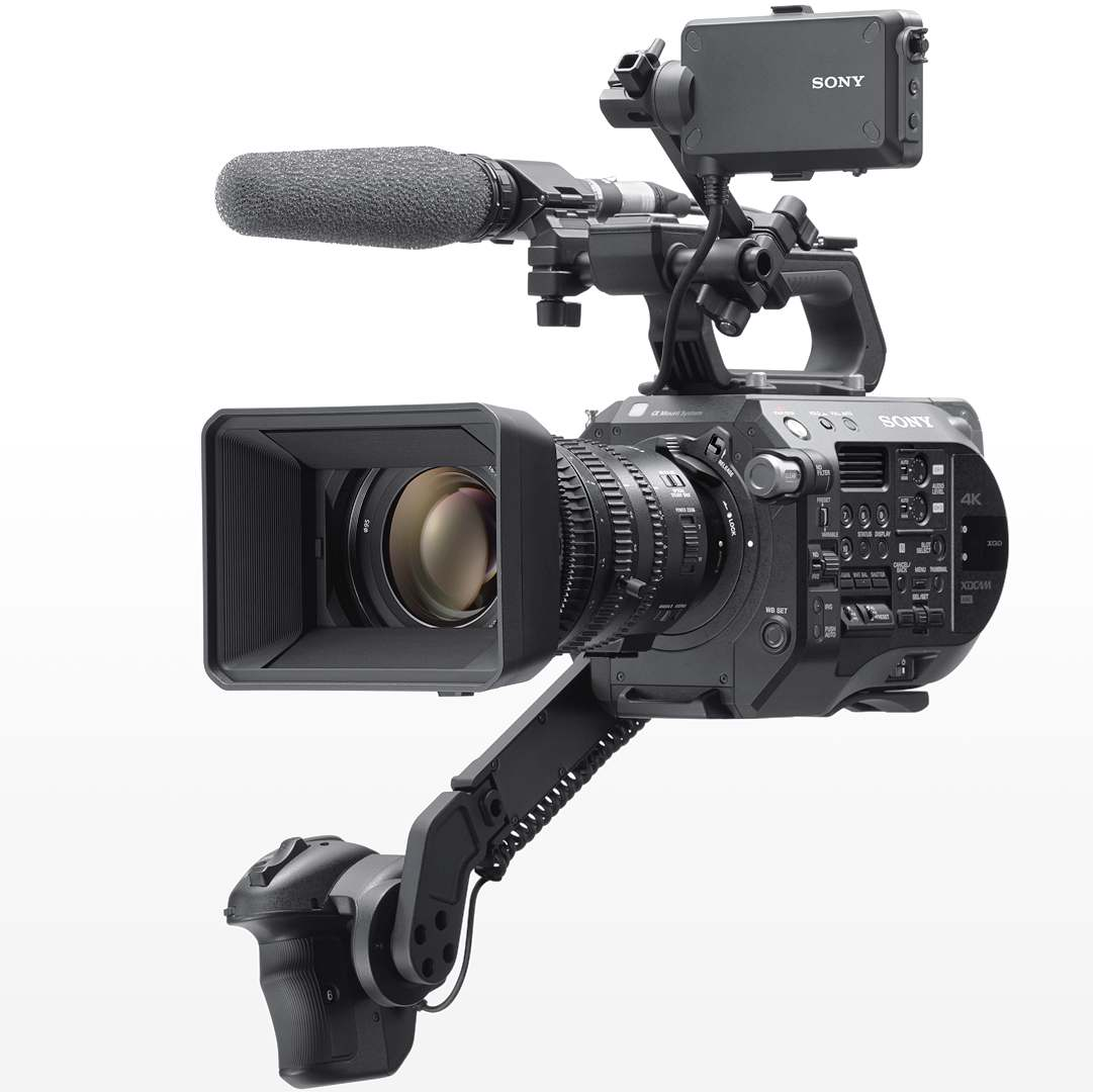 PXW-FS7 II with 18-110mm f/4 kit lens