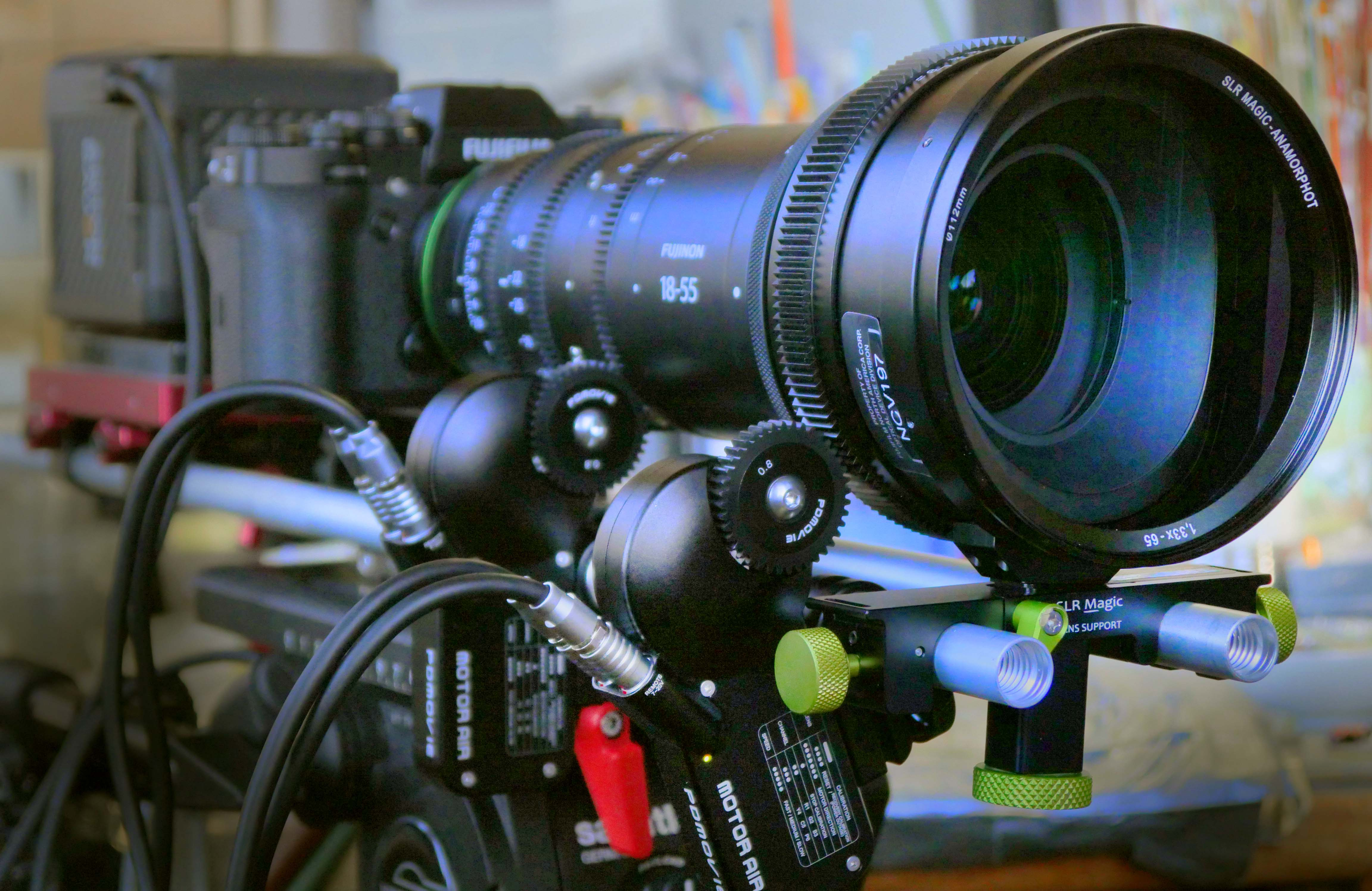 Fujinon's MK lenses paired with SLR Magic's Anamorphot bring widescreen magic to low budget filmmaking 4