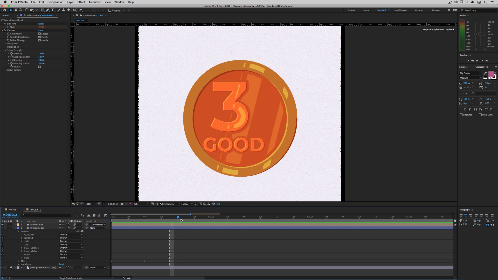 Faking 3D in After Effects 2