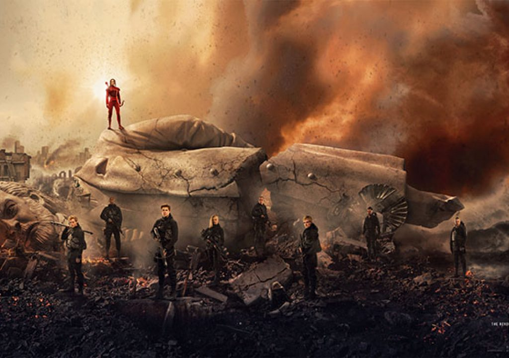 """Art of the Cut with the editors of """"Hunger Games - The Mockingjay Part 2"""" 13"""