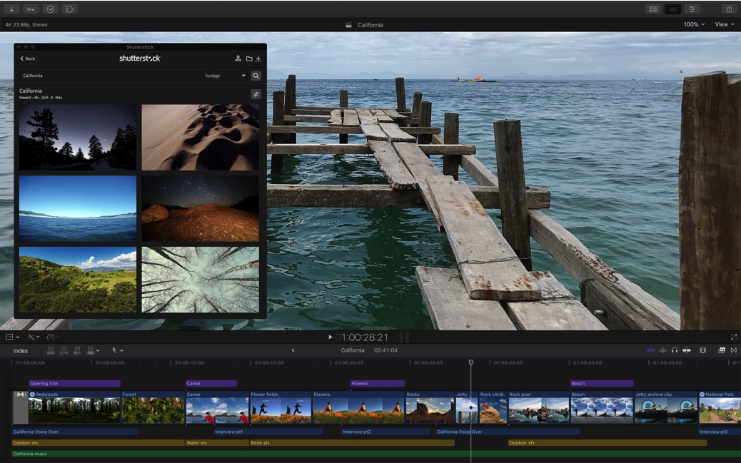 Final Cut Pro X 10.4.4 adds Workflow Extensions as the highlight of a new update 35