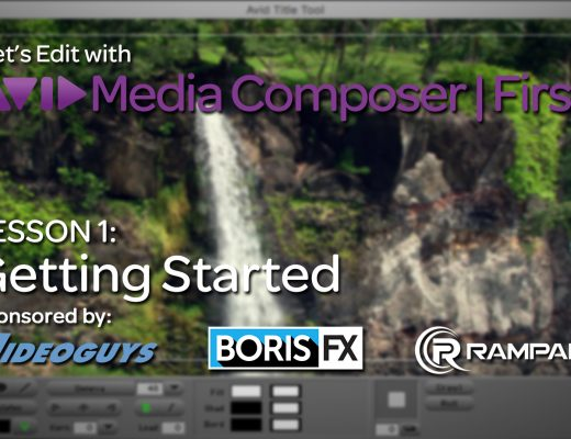 Let's Edit with Media Composer | First - Lesson 1 - Getting Started 12