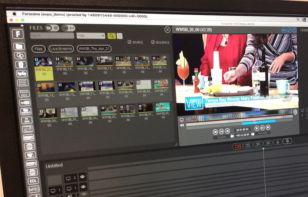 NAB 2016 - Forscene and their Cloud-based Video Production Platform 2
