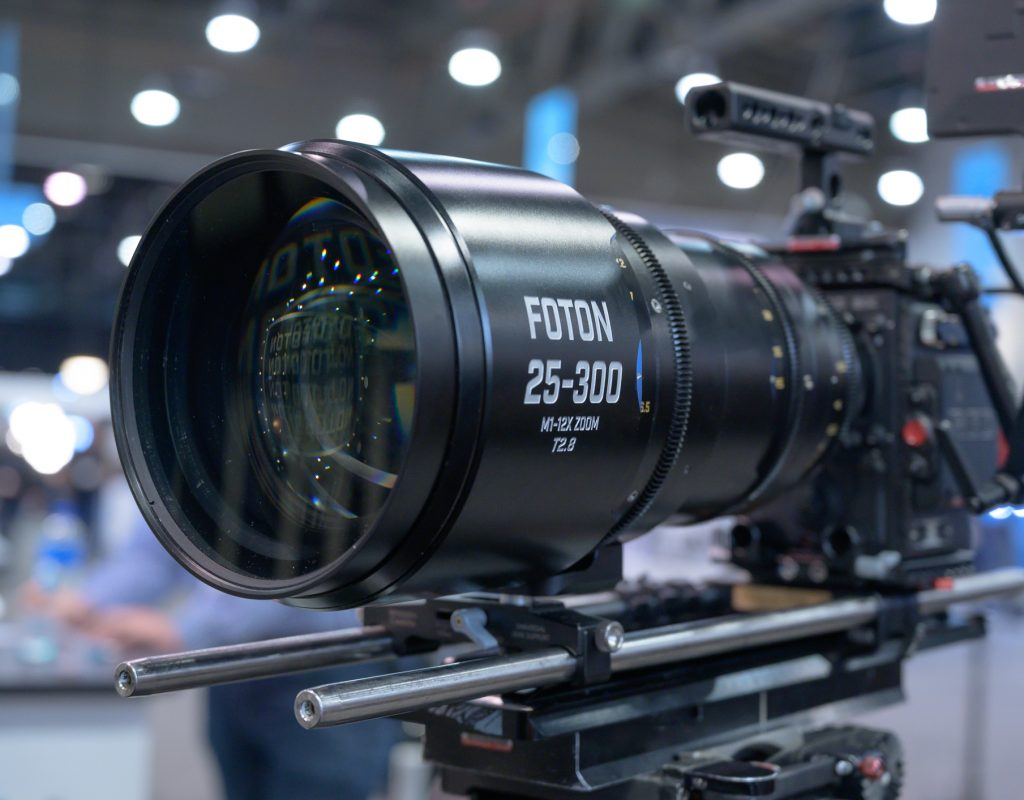 NAB 2019: Foton Optics M1 25-300mm T2.8 Cine Zoom Lens 1