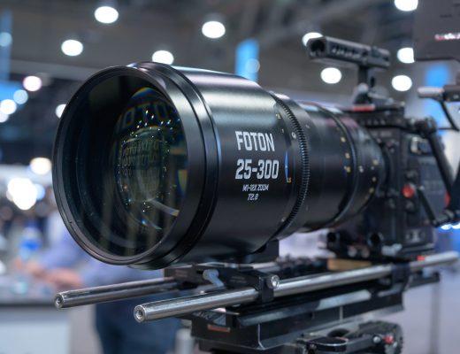 NAB 2019: Foton Optics M1 25-300mm T2.8 Cine Zoom Lens 1