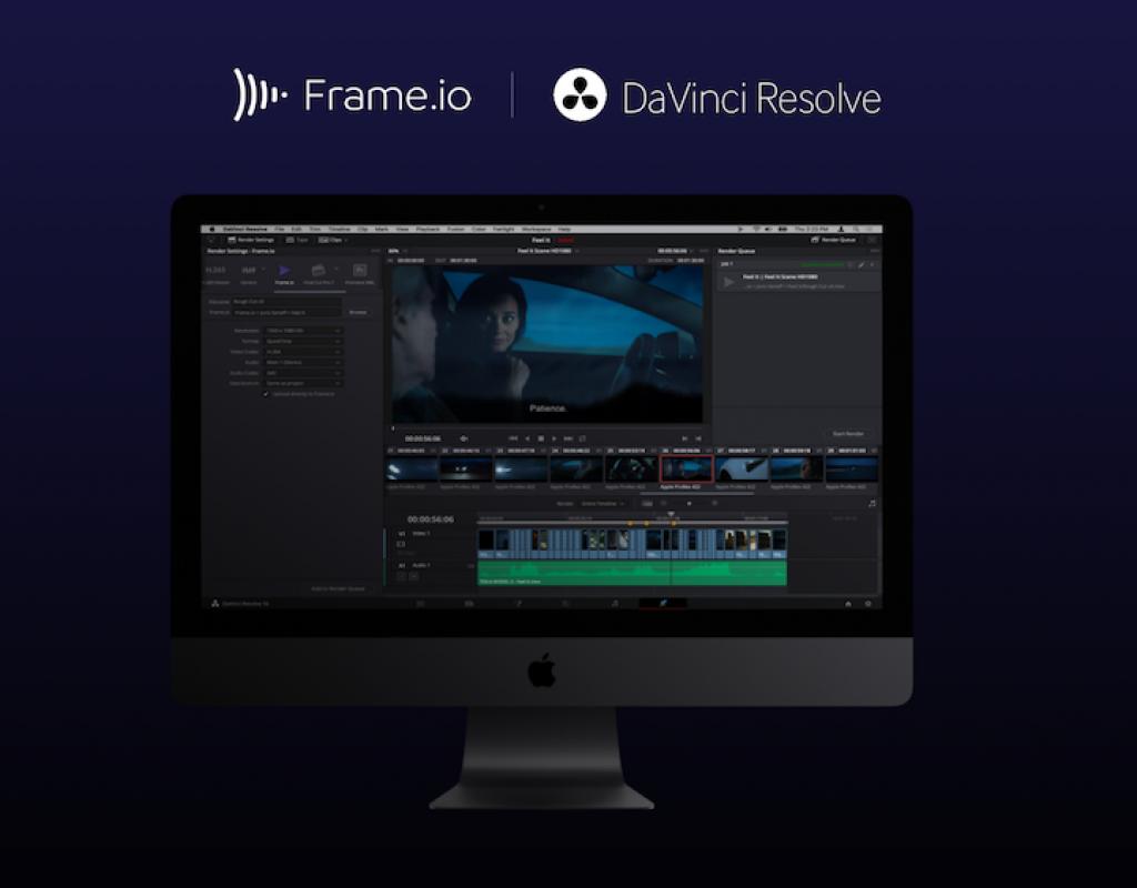 Frame.io adds DaVinci Resolve integration 1