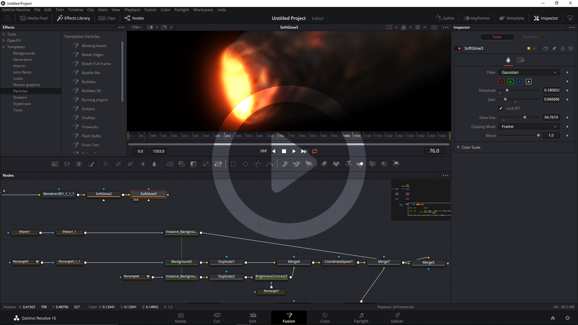 Learn the Fusion page in Resolve: in 20 minutes 4