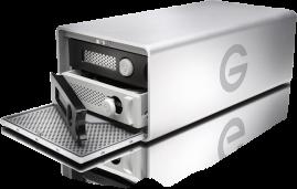 G-Technology G-RAID with Thunderbolt and USB 3