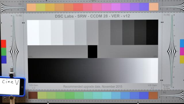 Cinelike V, normal exposure