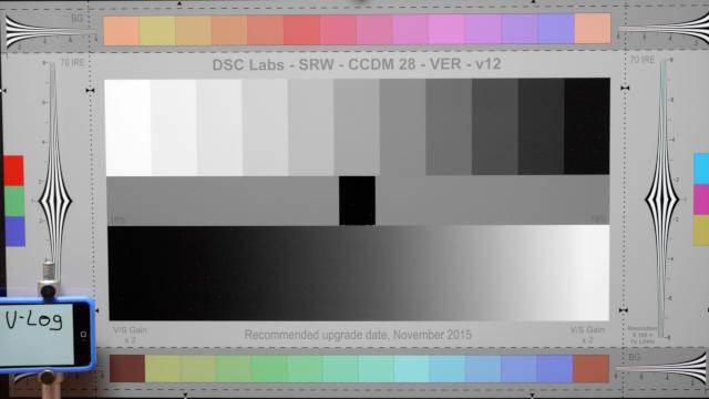 V-log L, normal exposure