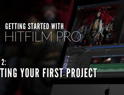 Getting Started with HitFilm Pro Lesson 2 - First Project