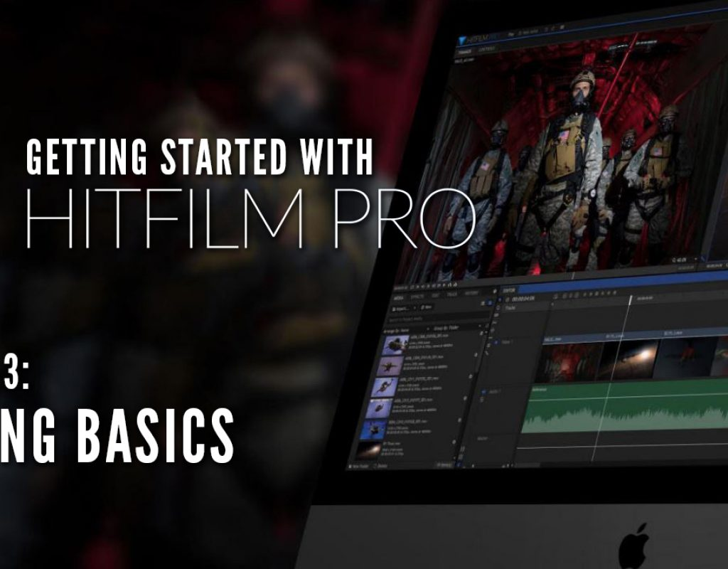 Getting Started with HitFilm Pro - Lesson 3 - Editing Basics and Setting your Options 1