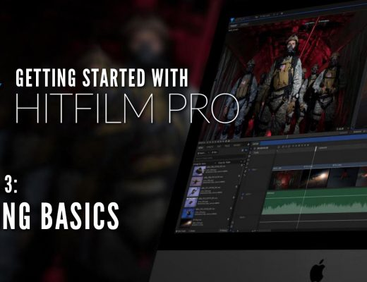 Getting Started with HitFilm Pro - Lesson 3 - Editing Basics and Setting your Options 2