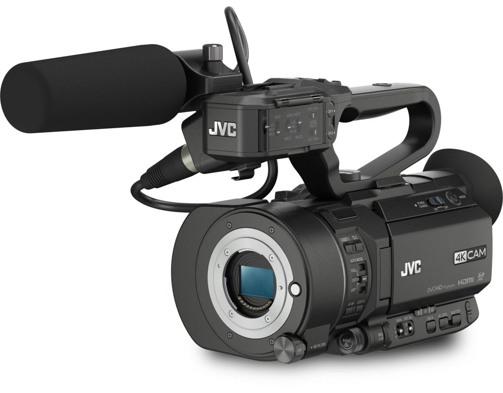 JVC GY-LS300 adds 4:2:2 internal 4K recording 5