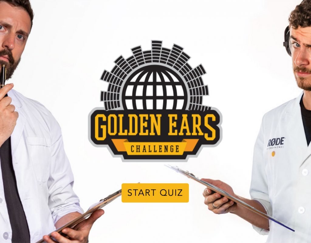 RØDE's 'Golden Ears' Challenge': Take the quiz and perhaps win 7