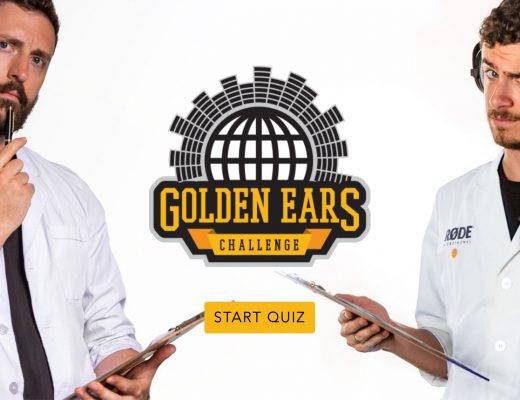 RØDE's 'Golden Ears' Challenge': Take the quiz and perhaps win 26