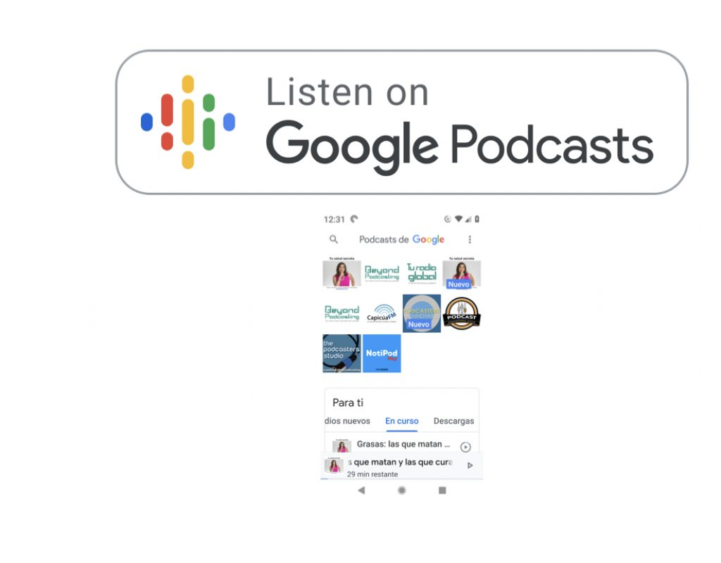 Google Podcasts app: They got it 99% right this time. 9