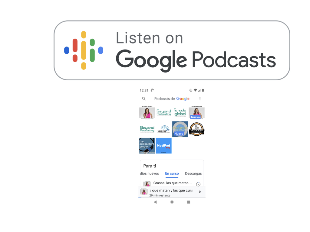 Google Podcasts app: They got it 99% right this time. 10