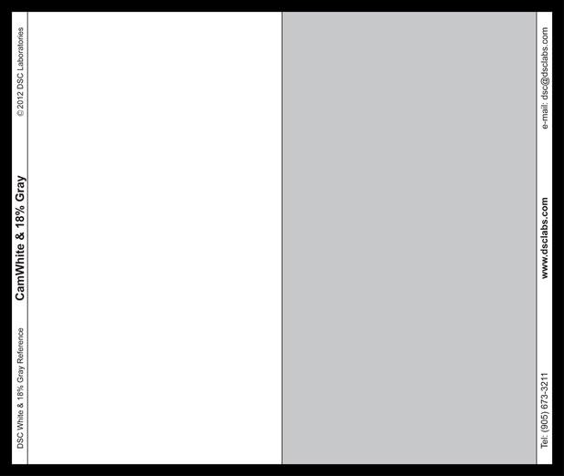 Gray card 618 1