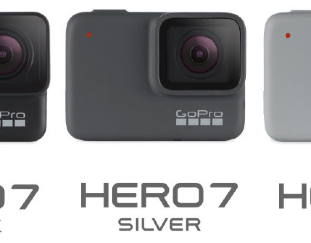 GoPro HERO7 Black, Silver and White Comparisons 1