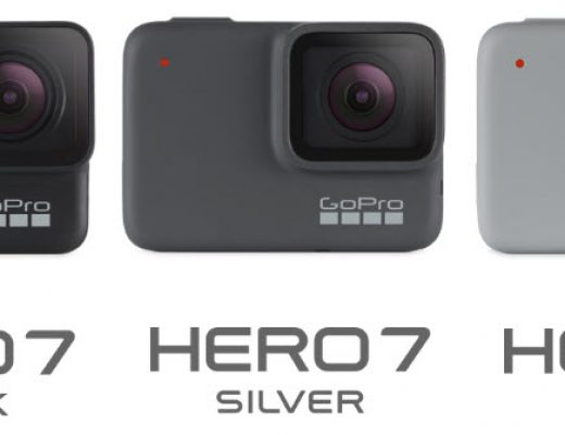 GoPro HERO7 Black, Silver and White Comparisons 2