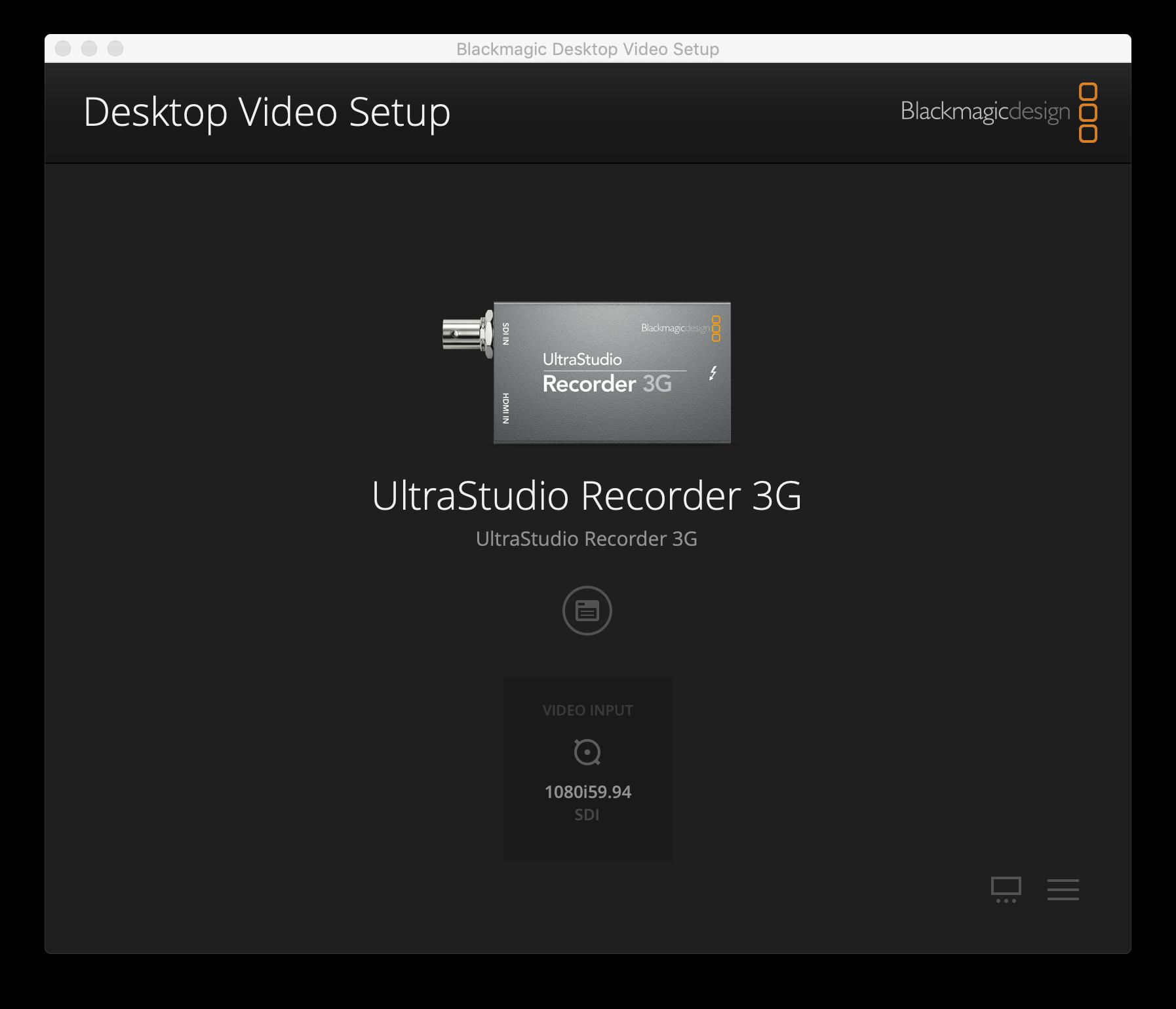 Review: Blackmagic UltraStudio Recorder 3G helps alleviate type 3 camera shyness… 9