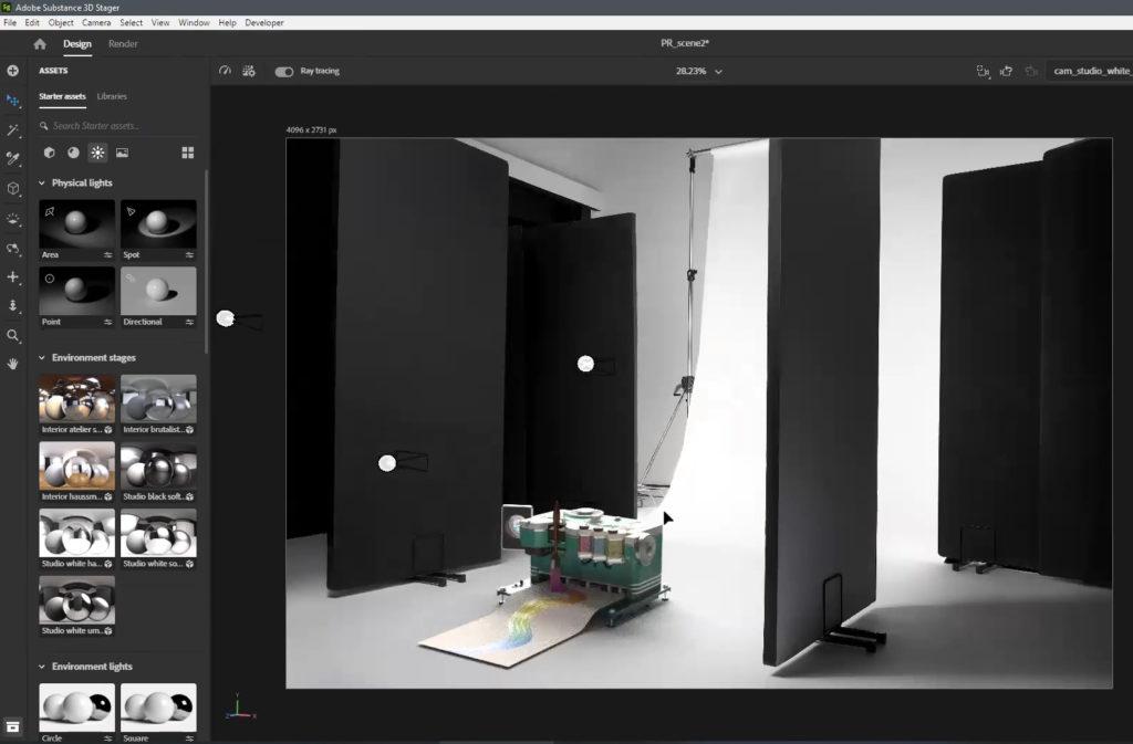 Adobe leva a sério o 3D Design 17