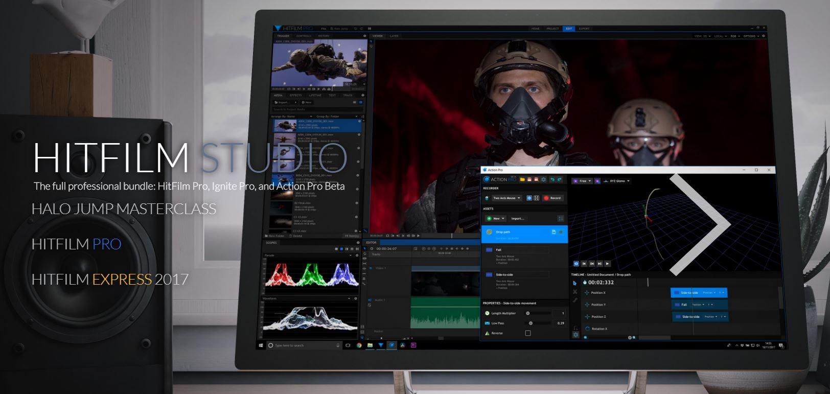 HitFilm Pro Studio