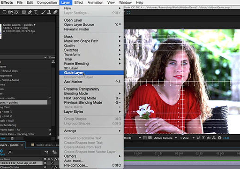 After Effects Hidden Gems Weekly: Guide Layers 1