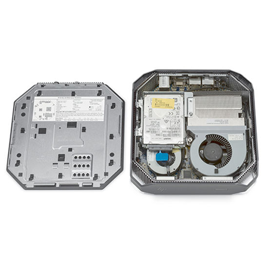 HP Z2 Mini internal look