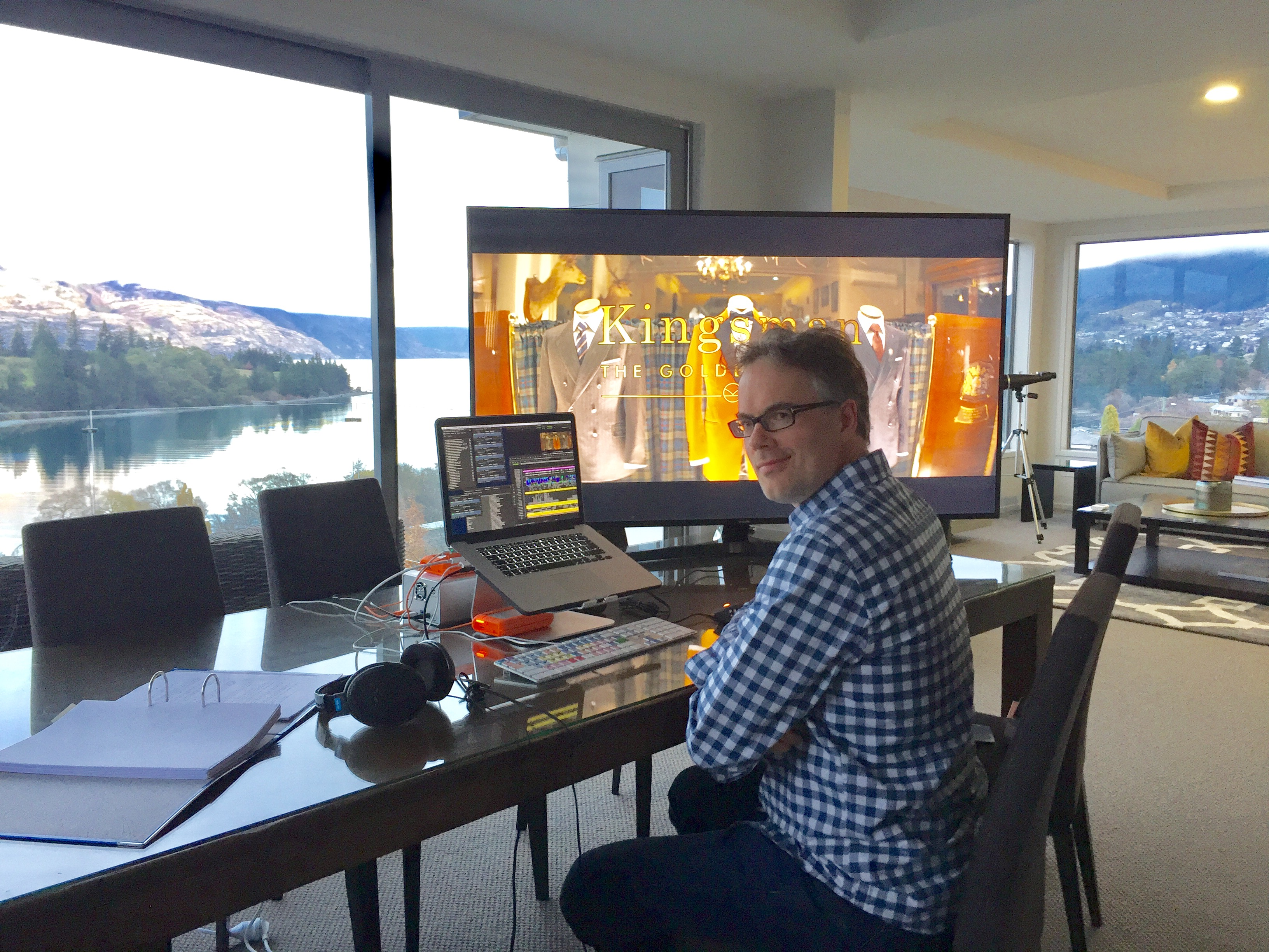 ART OF THE CUT with the assistant editors and VFX editors of Kingsman: The Golden Circle 40