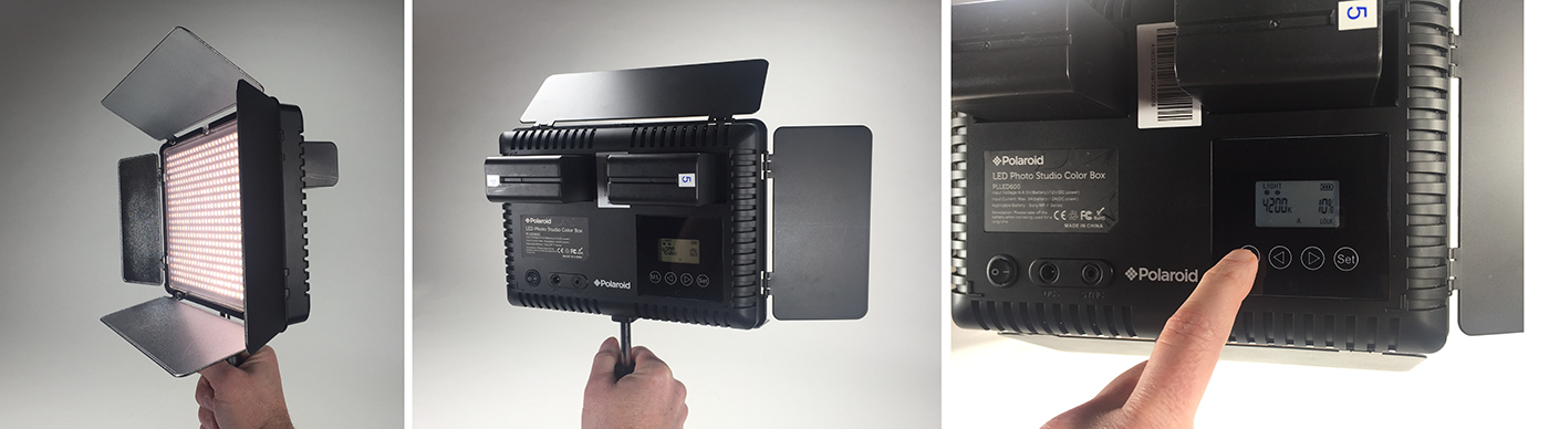 Product Review: Polaroid small portable LED production light panels 10