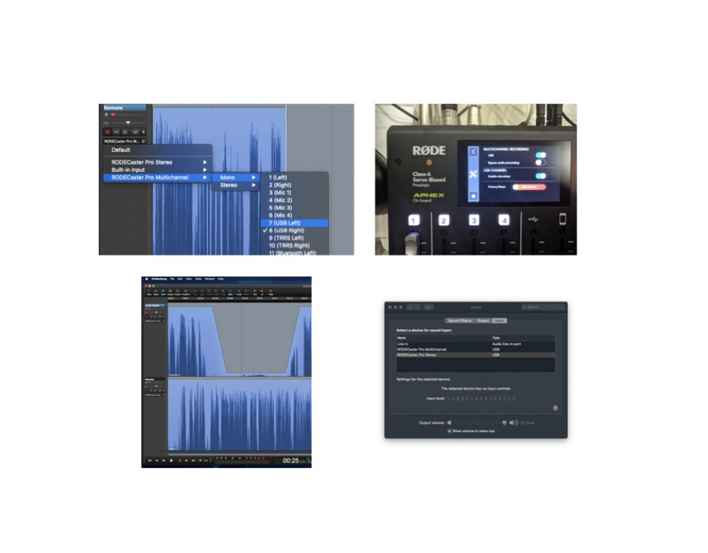 Integrating Cleanfeed, Hindenburg & RØDECaster Pro 1