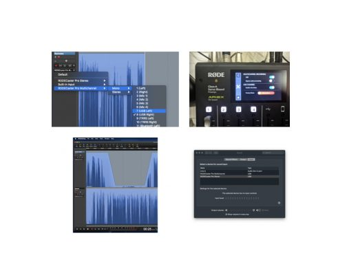 Integrating Cleanfeed, Hindenburg & RØDECaster Pro 38