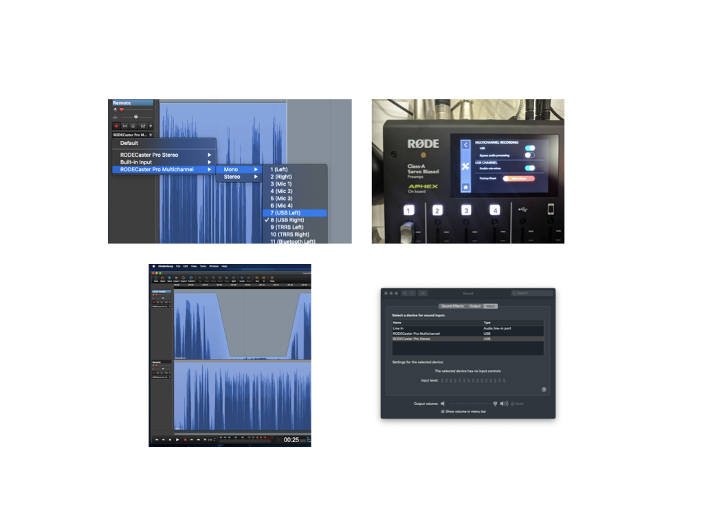 Integrating Cleanfeed, Hindenburg & RØDECaster Pro 2