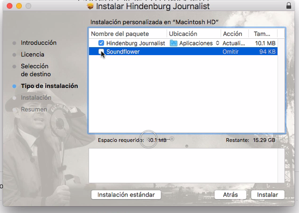 How to install/update Hindenburg Journalist (Pro) without Soundflower 10