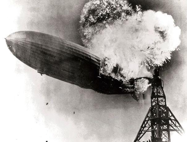 Hindenburg burning 605