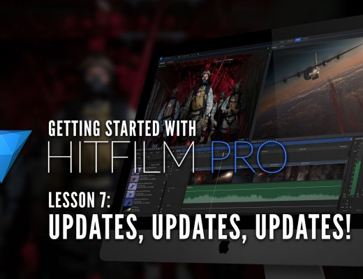 Getting Started with HitFilm Pro - Lesson 7 - Updates 3